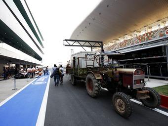 Посещаемость Гран-при Индии сократилась на 30 тысяч зрителей