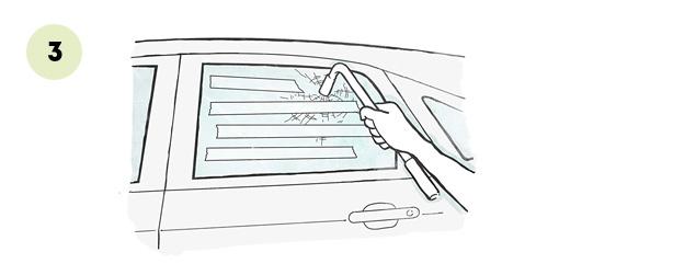 Своими руками: разбиваем стекла в своей машине. Фото 3