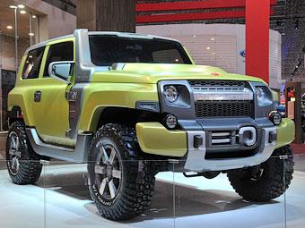 Ford осовременил бразильский внедорожник Troller