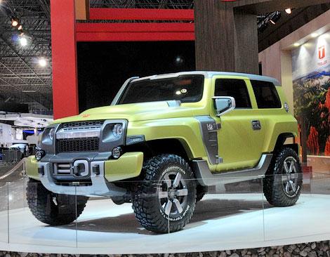 Компания показала на автошоу концепт-кар Troller R-X