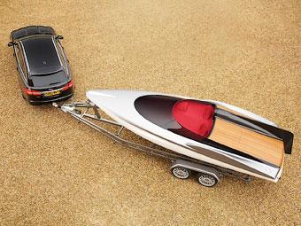 Jaguar разработал моторную лодку