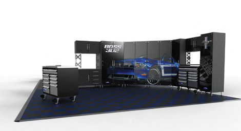 Консультанты Ford разработают дизайн гаража