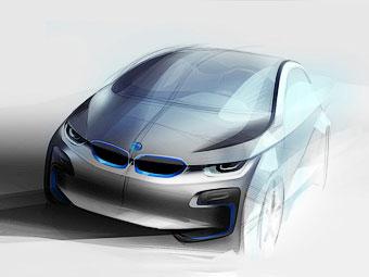"BMW покажет ""спортивный"" вариант электрокара i3"