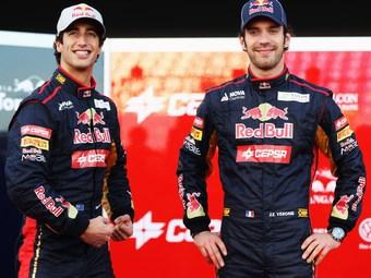 Команда Toro Rosso сохранит пилотов в 2013 году