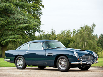Aston Martin DB5 Пола Маккартни продали на аукционе