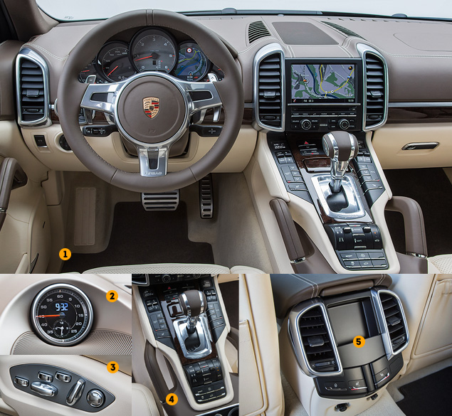 Первое знакомство с дизелем V8 Porsche Cayenne S Diesel. Фото 1