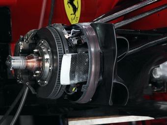 В Формуле-1 запретили терморегуляцию тормозов во время гонок