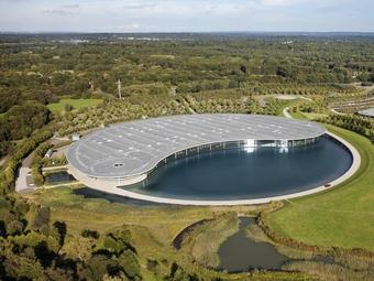 База McLaren получила архитектурную премию