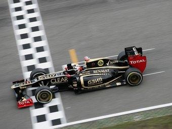 Райкконен одержал первую победу после возвращения в Формулу-1