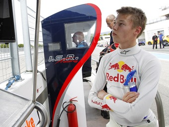 Даниил Квят примет участие в тестах серии GP3