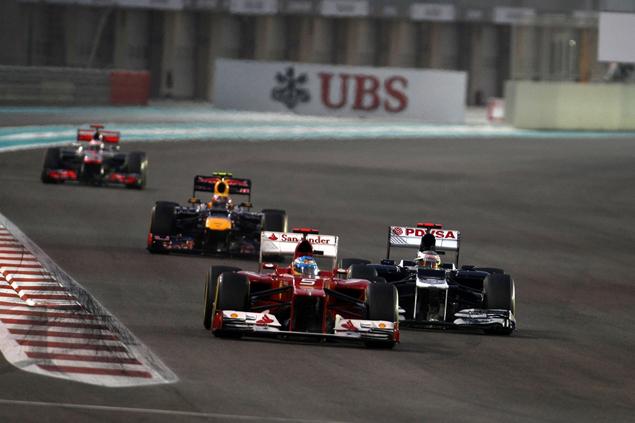 Формула-1 устроила шоу в Абу-Даби. Фото 3