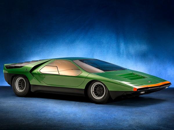 Тринадцать фантастических концепт-каров Alfa Romeo