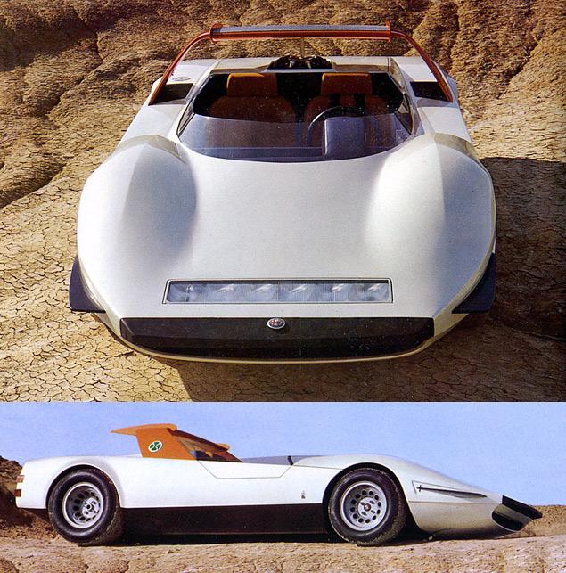 Тринадцать фантастических концепт-каров Alfa Romeo. Фото 3