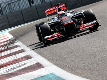 Пилот McLaren опередил конкурентов на молодежных тестах в Абу-Даби