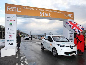 Электрокар Renault Zoe выиграл эко-марафон
