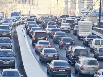 Опубликованы данные о ежегодном падении скорости движения в Москве