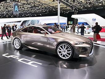 Lexus выбрал название для новой модели