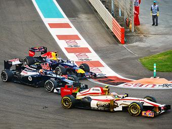 Гонщики Формулы-1 попросили запретить систему DRS