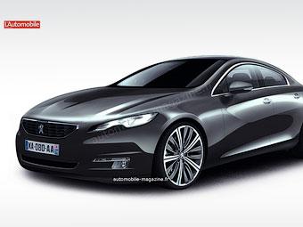 """Peugeot выпустит """"четырехдверное купе"""""""