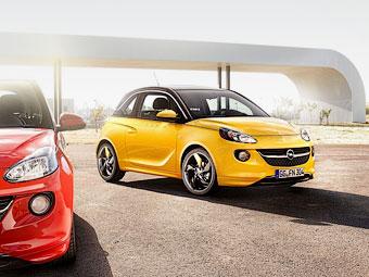 """Opel разочаровался в электрическом """"Адаме"""""""