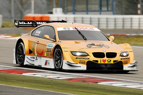 Итальянский ветеран провел испытательные заезды автомобиля BMW M3 кузовной серии. Фото 1