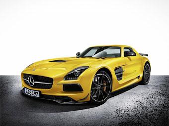 "Mercedes-Benz представил ""заряженный"" суперкар SLS AMG"
