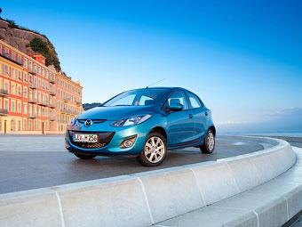 Toyota выпустит компакт-кар на базе Mazda2