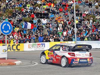 Себастьен Леб выиграл последнюю гонку сезона WRC
