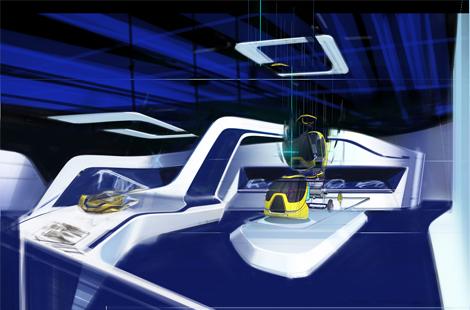 Посетители аттракциона смогут разработать собственный автомобиль. Фото 2
