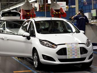 """Ford начал выпуск обновленной """"Фиесты"""""""