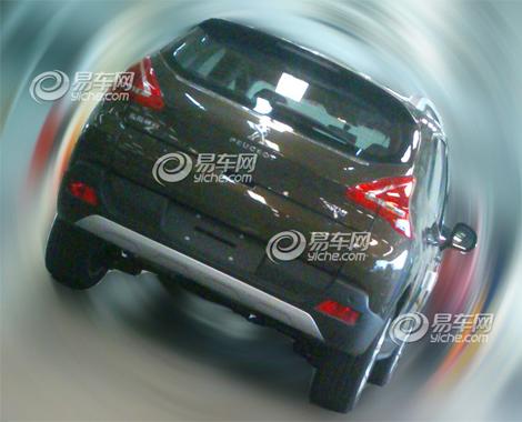 Модель получила переднюю часть в стиле Peugeot 208