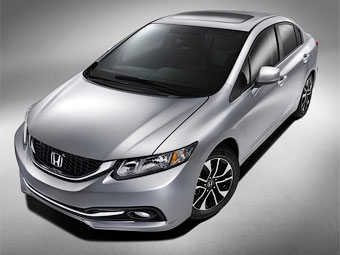 """Хонда"" обновила Civic раньше срока из-за критики в прессе"
