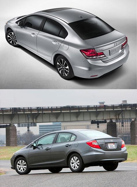 Американская версия седана получила новый дизайн экстерьера и салона