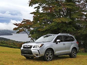 Новый Subaru Forester научился ездить по бездорожью