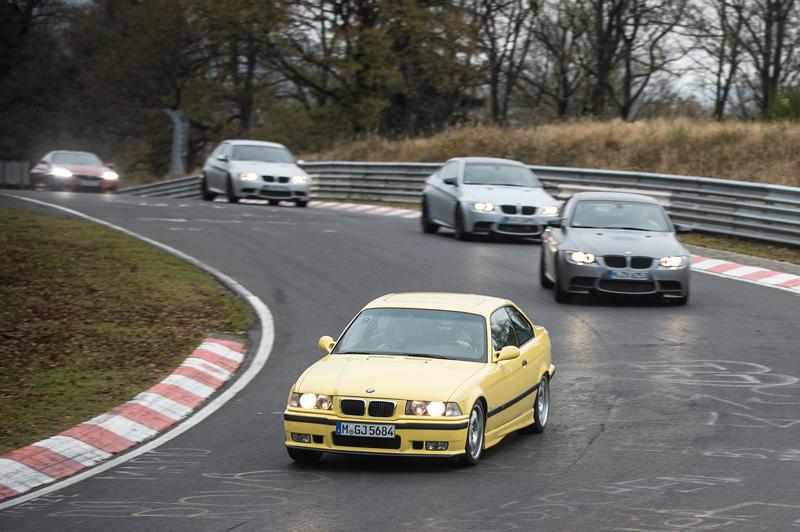 Отмечаем юбилей отделения BMW M на легендарной Северной петле Нюрбургринга