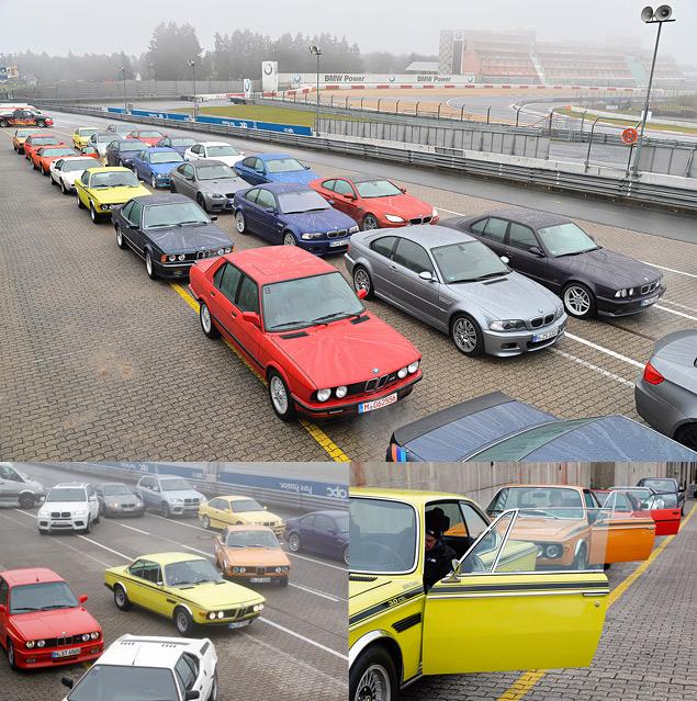 Отмечаем юбилей отделения BMW M на легендарной Северной петле Нюрбургринга. Фото 4