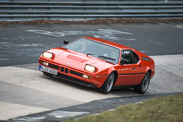 Отмечаем юбилей отделения BMW M на легендарной Северной петле Нюрбургринга. Фото 11