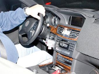 Шпионы показали салон обновленного Mercedes-Benz E-Class