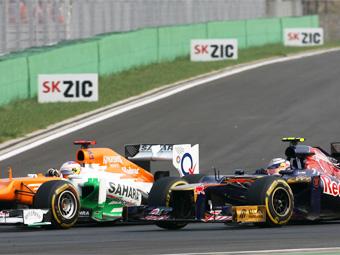 Toro Rosso и Force India сменят поставщиков моторов
