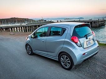 Компания Chevrolet построила маленький электрокар