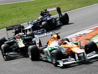 Тяжба между Force India и Caterham возобновится в 2013 году