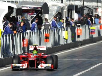 Фелипе Масса потеряет пять мест на старте Гран-при США