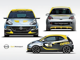 Opel превратит Adam в ралли-кар