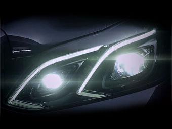 """Mercedes-Benz лишил обновленный E-Class """"четырехглазости"""""""