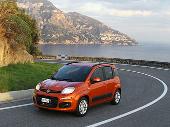 Компактвэн Fiat Panda вошел в десятку самых популярных машин Европы