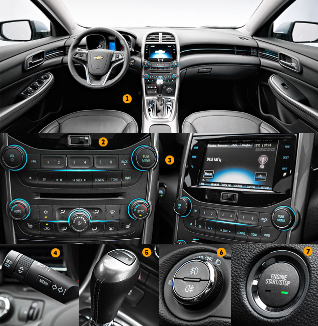 Знакомимся с четырехцилиндровым флагманом Chevrolet – седаном Malibu. Фото 5