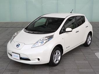 Nissan улучшил автономность электрокара Leaf