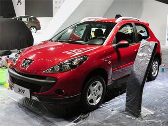 """Компания Peugeot сделала для китайцев """"вседорожный"""" хэтчбек 207"""