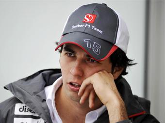 Серхио Перес проболтался о составе команды Sauber на будущий год