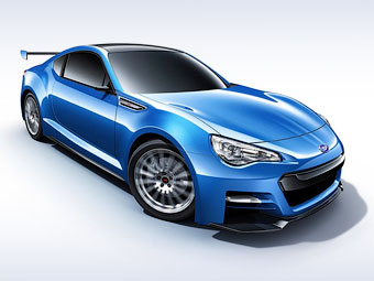 """""""Заряженное"""" купе Subaru BRZ останется атмосферным"""